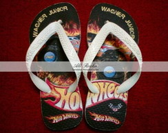 Sand�lias Personalizadas Hot Wheels