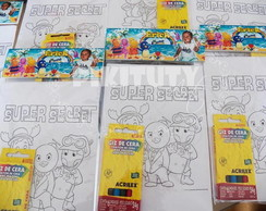 Kit Colorir Backyardigans