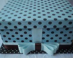 caixa tecido
