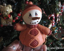 Boneco de neve - Roy D'orange