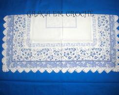 Toalha de ch� Azul Claro