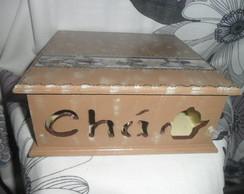 Caixa de Ch� pequena (vendido)