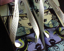 Havaianas Personalizadas Monster High