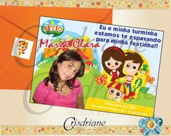 Convite do Sitio do Pica Pau Amarelo