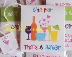 Convite Ch� Bar - sach� de ch�