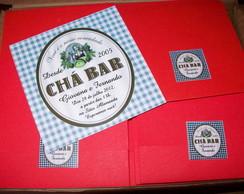 Convite Ch� Bar Xadrez