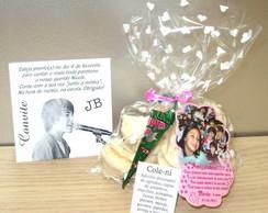 Justin Bieber - Convite e Lembrancinha