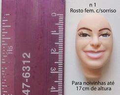 Rosto feminino n 1 c/ sorriso