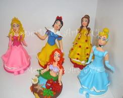 Topo de bolos das princesas