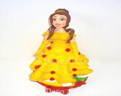 topo de bolo da Bela