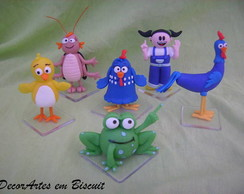 miniaturas pers. galinha pintadinha