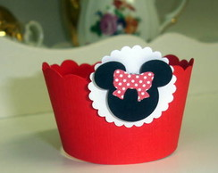 Forminha de Cupcake Minnie
