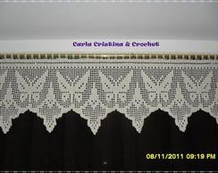 Band� de Croch� com Borboletas