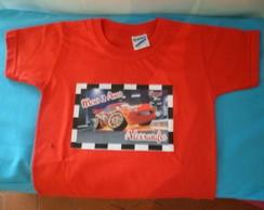 Camiseta infantil com foto
