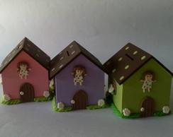 Casa Cofre - Tema Boneca de Pano