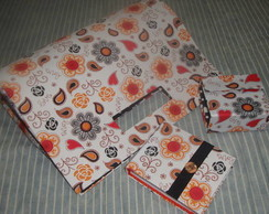 Kit em cartonagem - Bolsa, costura, bloc
