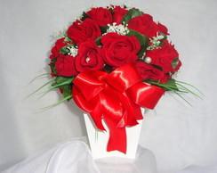 Topi�ria de Rosas Vermelhas