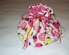Porta joias grande joaninhas pink