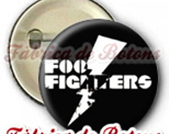 BOTON, 2,5cm, FOO FIGHTERS
