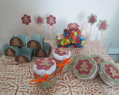 Kit festa ursinho