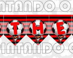 Varal com nome - Flamengo.