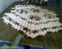 tapete de bico colorido