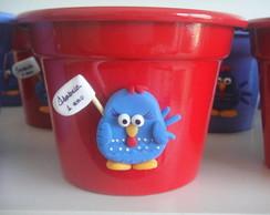 baldinho alum�nio galinha pintadinha