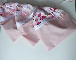Kit 3Saquinhos de Roupa para Maternidade
