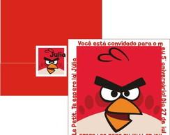 Convite Angry Birds