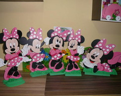 Pain�is em Mdf Minnie 70cm