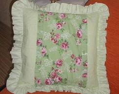 capa para almofada flores