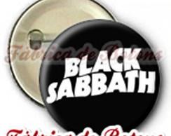 BOTON 2,5cm BLACK SABBATH