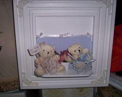 porta maternidade de urso
