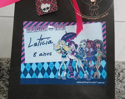 Sacola Grande Personalizada Monster High