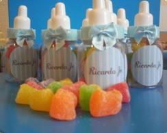 Mini mamadeira com jujubas ou confetes