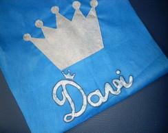 Sacola tnt - Pr�ncipe em azul royal