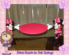 Bandeja de MDF com Personagens Minnie Ro