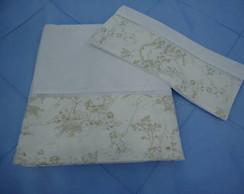 Jogos de len�ol com barra de tecido.