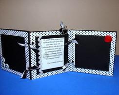 Mini porta retrato sanfonado