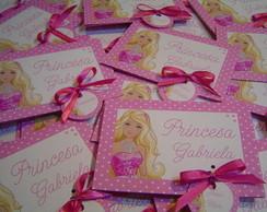 Convite Barbie e Magia