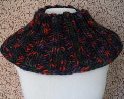 Gola sanfonada colorida