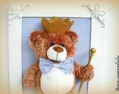 Quadro Rei Urso