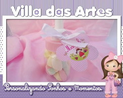 Mini Mamadeira Personalizada Rosa