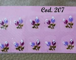 Bot�es cor uva com lil�s
