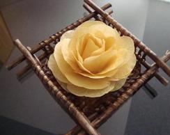 Cesta com flor