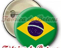 BOTON 2.5cm BRASIL