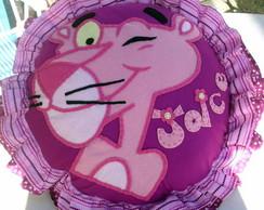 Almofada Pantera-cor-de-rosa