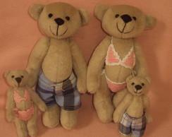 Fam�lia Urso Moda Praia