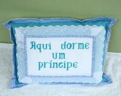 Almofada bordada Pr�ncipe