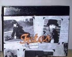 Caixa de fotos para 4 albuns